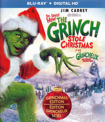 Dr. Seuss - How The Grinch Stole Christmas (Bl New Blu