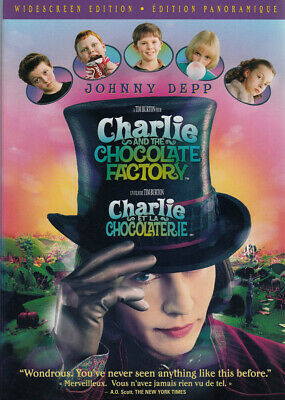 Charlie And The Chocolate Factory New Dvd