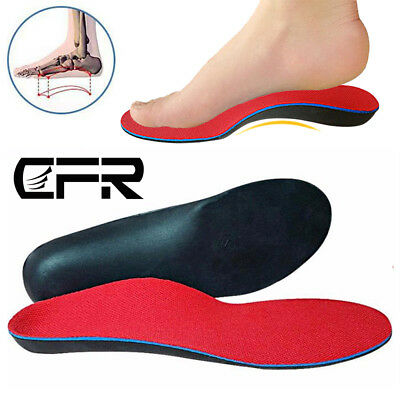 Medical Orthotic Insoles Arch Support Cushion Shoe Insert Flat Foot Fasciitis