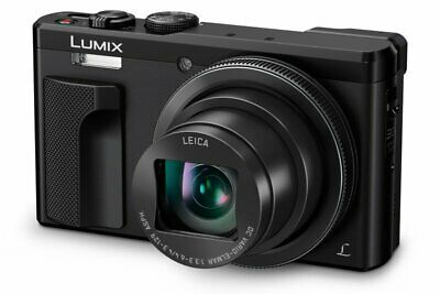 Panasonic Dmc-tz80 Camera Black 18.1mp 30xzoom 3.0lcd 4k Fhd 24mm Leica Dc