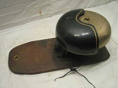 Early Cast Iron &Brass Signal Bell Fire Alarm Pull Ringer Engineering Co Door