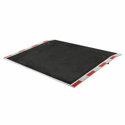 Aluminum Dock Plate with Grit Surface - 6,000 lb. Weight Capacity