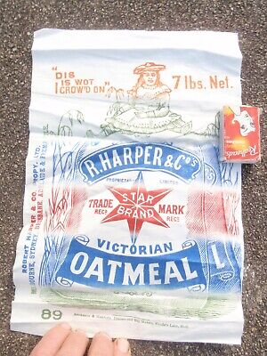 Harper & co Oatmeal Bag front  , great for display,