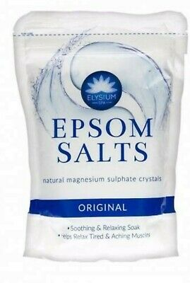 Elysium Spa Epsom Salts/Spa Bath Minerals/BP Food Grade Magnesium Sulphate-FMCG