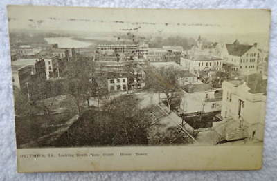 Postcard Ottumwa Iowa Aerial View From Court House Tower #Rd4