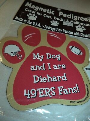 Nfl Pet Paw Magnets - 9 Breeds To Choose From - My Dog And I ......