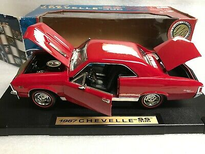 1:18 Chevy 1967 Chevelle SS 396 3 Speed transmission DiecastMuscle Car MOTORMAX