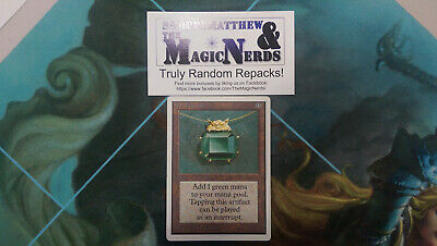 MTG Repack Unlimited Mox Emerald LIMITED AUCTION SERIES #3! 1:100 Odds of Power!