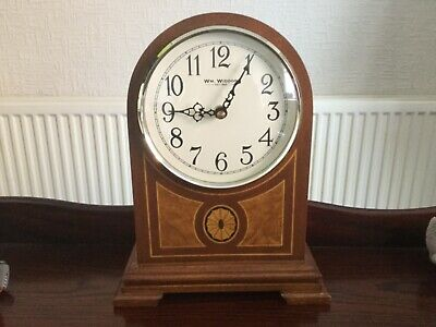 Vintage Antique Design Westminster Chiming Mantel Clock Working Chimes Mantle