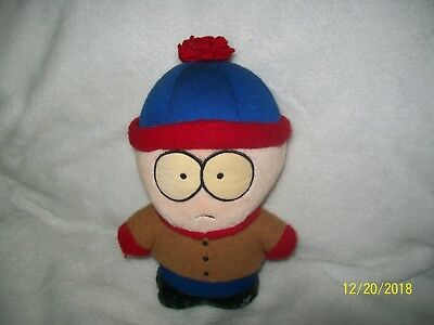 """South Park Plush 7"""" Character Stan 1998 7 Inch"""