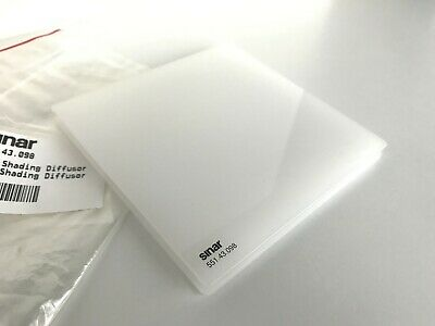 Sinar Sinarback Digital White Shading Diffusor 551.43.098 not used, almost new
