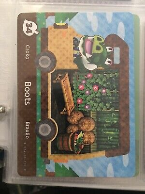 BOOTS #34 Series 5 Animal Crossing New Leaf Welcome Amiibo Card