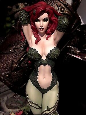 DC comics Batman Sideshow Premium Format POISON IVY EXCLUSIVE CUSTOM statue LOOK