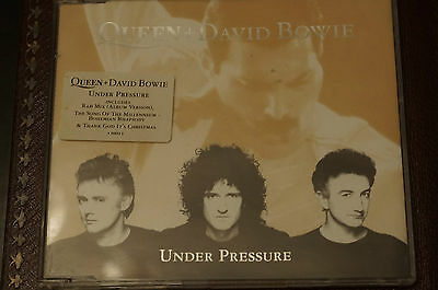 David Bowie Queen under Pressure CD Single Picture Cover 1st Run MINT Disc