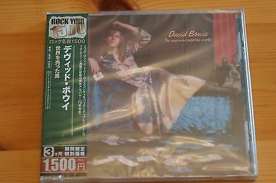 Rare David Bowie Man Who Sold The World CD EMI Japan Case OBI Sealed 9 Tracks