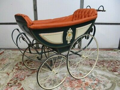 Antique Baby Carriage Royal French Style