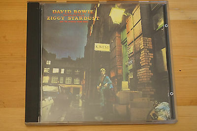 David Bowie Ziggy Stardust and the Spiders EMI Uk CDP7944002 16 Trks VG+ Cd