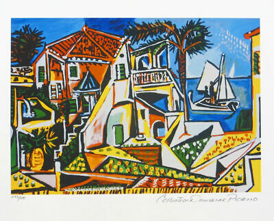 Pablo Picasso CAVALIER Limited Edition Giclee Estate Signed 20x13