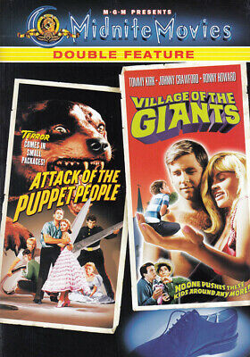 Attack Of The Puppet People/Village Of The G Nuovo DVD