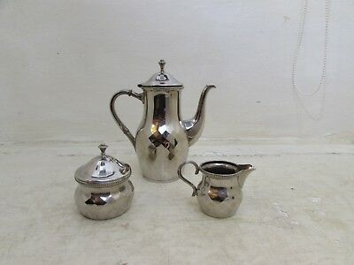 Vintage / Antique K.&H Silver Plated Coffee Service, Unusual Design, Nice Set
