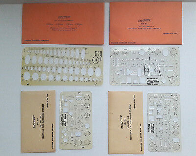 RAPIDESIGN R-45 ELECTRIC Public Utilities Template Vtg New ... on