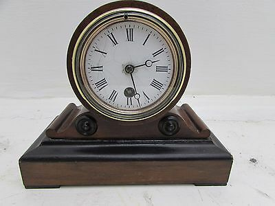 Antique Jules Steiner 1850's French Mantel Clock Thieble Pendulum Not Running