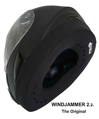 WINDJAMMER 2 PROLINE, Helmet Wind Blocker for Motorcyclists ( Free Delivery )