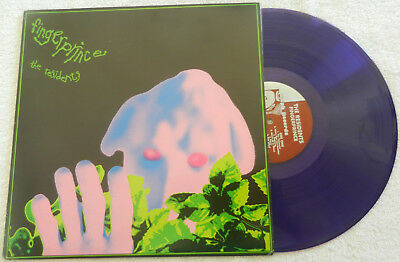 THE RESIDENTS❖FINGERPRINCE❖PURPLE VINYL Ltd edition of 500❖EX/EX LP❖Snakefinger!