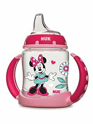 NEW UNOPENED BOX!! NUK Disney Learner Sippy Cup, Minnie Mouse, 5oz 1pk