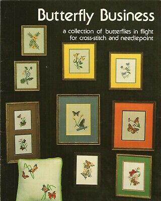 """Butterfly Business"" Cross Stitch Collection"