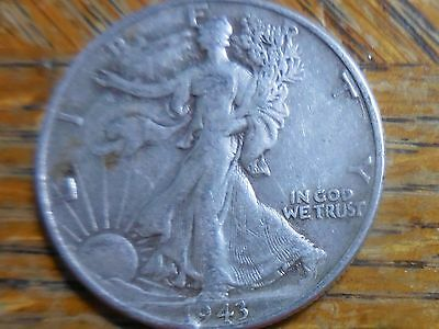 1943-P 90% Silver Walking Liberty Half Dollar (seller's note # 138)