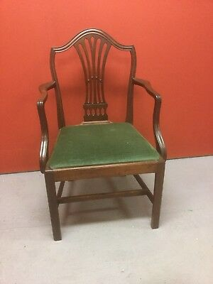 Antique Georgian Carver Chair Sn-p