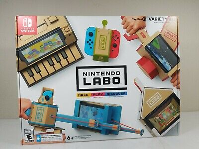Nintendo Labo Toy-Con Variety Kit, Switch, Games, Kids, Interactive, Creative