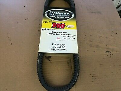 Carlisle Ultimax Pro Drive Belt 138-4400U4 0627-034 Arctic Cat