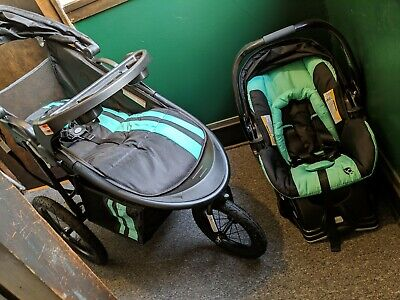 Baby Trend Cityscape Jogger Travel System Moonstone 138 59
