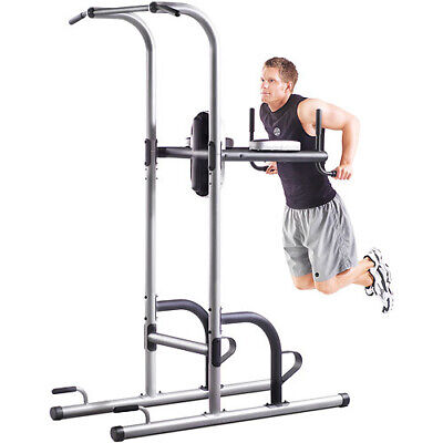 Golds Gym Power Tower XR 10.9 Arms Chest Shoulders Core Workout Padded Hand
