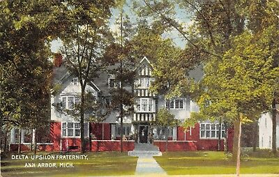UNIVERSITY OF MICHIGAN PC Postcard ANN ARBOR UM Mich