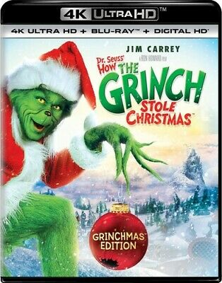 Dr Seuss' How The Grinch Stole Christmas - 2 DISC SET (Blu-ray New) 19132900989