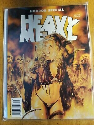 Heavy Metal Magazine Horror Special 1997 Excellent Condition Special Issue