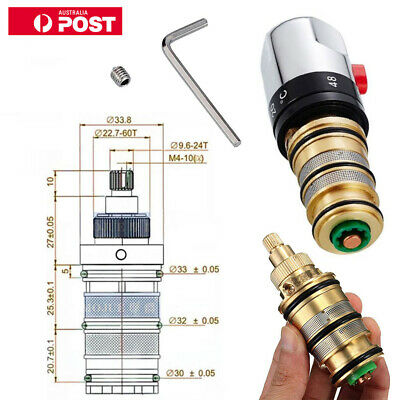 Thermostatic Cartridge for Triton (83308580) BATH MIXER TAP TAPS SHOWER VALVE