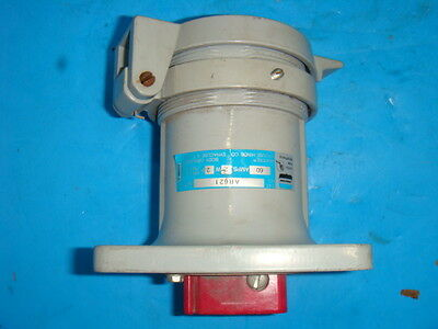 New Crouse Hinds AR621 Arktite Body Grounded Pin&Sleeve 60A Receptacle 2W2P NNB