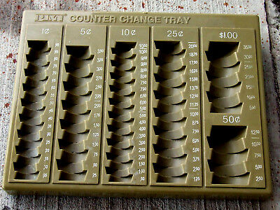 Beige PM Counter Change Tray in Great Shape