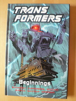 Titan Book Transformers Beginnings from 2003 Hardback compiles Marvel vol 1 1-6