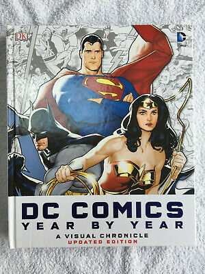 DK DC Comics Year By Year A Visual Chronicle Updated Edition hardback RRP £30.00