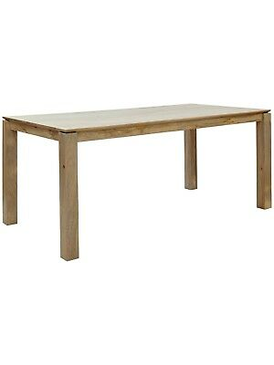 John Lewis & Partners Asha Wooden 6-8 Seater Dining Table