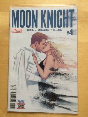Marvel Comic Moon Knight #4 Oct 2016 2nd Print