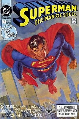 Superman: The Man Of Steel Vol 1 Complete Digital Collection On Dvd