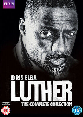 Luther: Series 1-4 DVD (2016) Idris Elba cert 15 7 discs FREE Shipping, Save £s