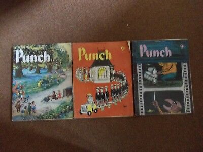 PUNCH MAGAZINES MAY 4th, 11th, 25th 1960