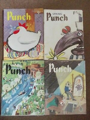 PUNCH MAGAZINES APRIL 6th, 14th, 20th, 27th 1960